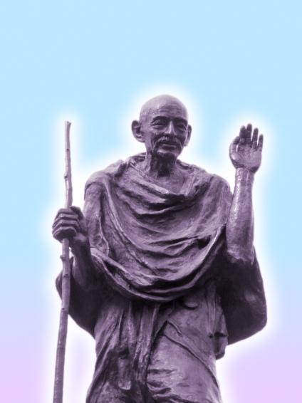 Denkmal - Mahatma Gandhi