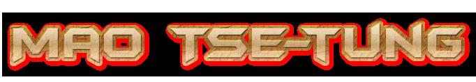 Mao Tse-tung-Logo