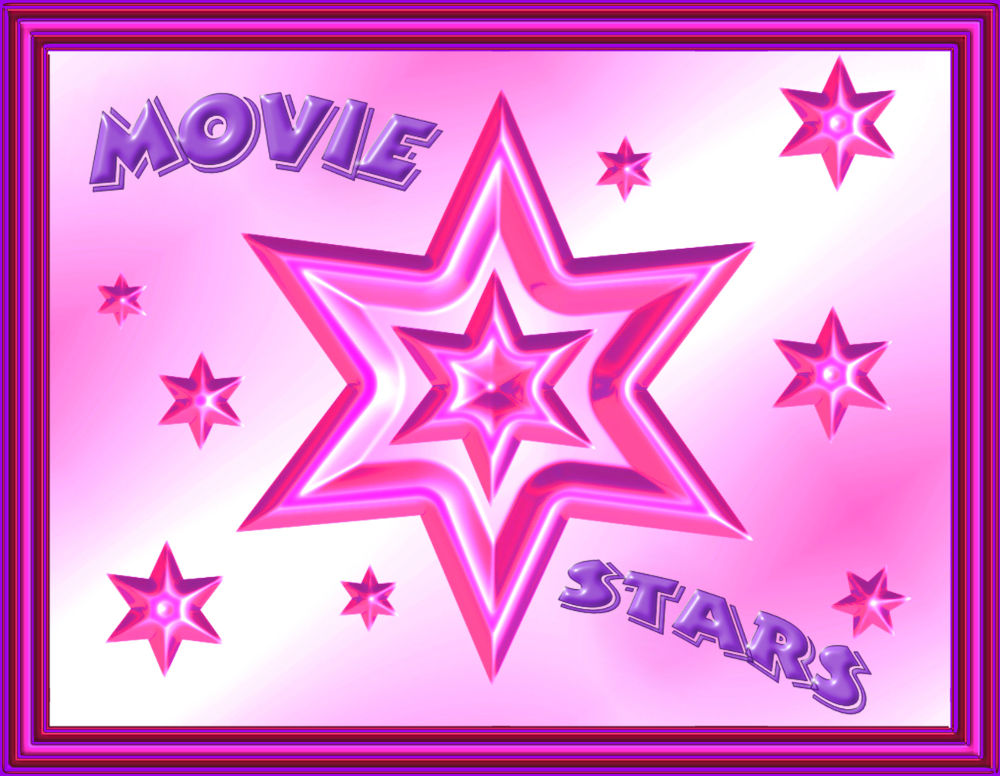 Movie Stars Bilderrahmen
