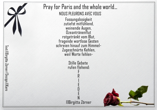 Paris - Trauergedicht