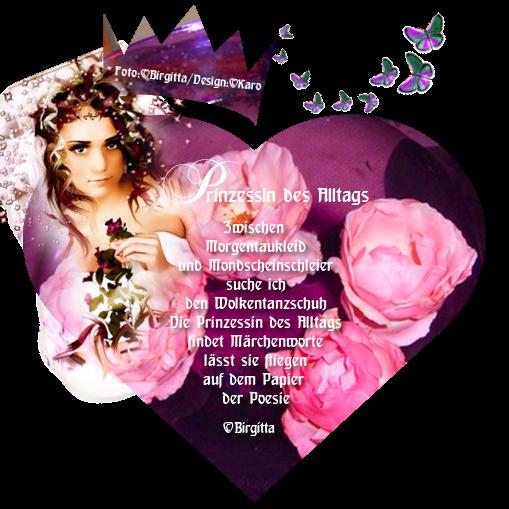 Rosen-Prinzessin des Alltags