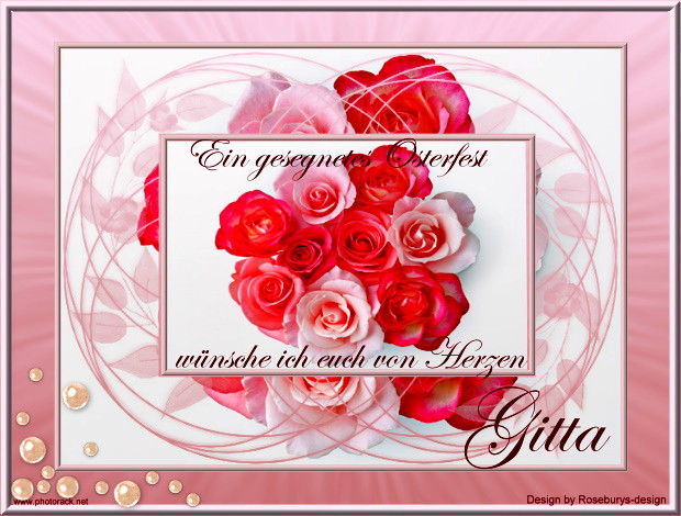Rosengruß zu Ostern