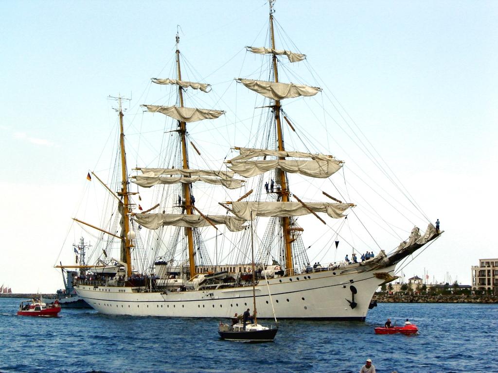 Segelschiff - Gorch Fock