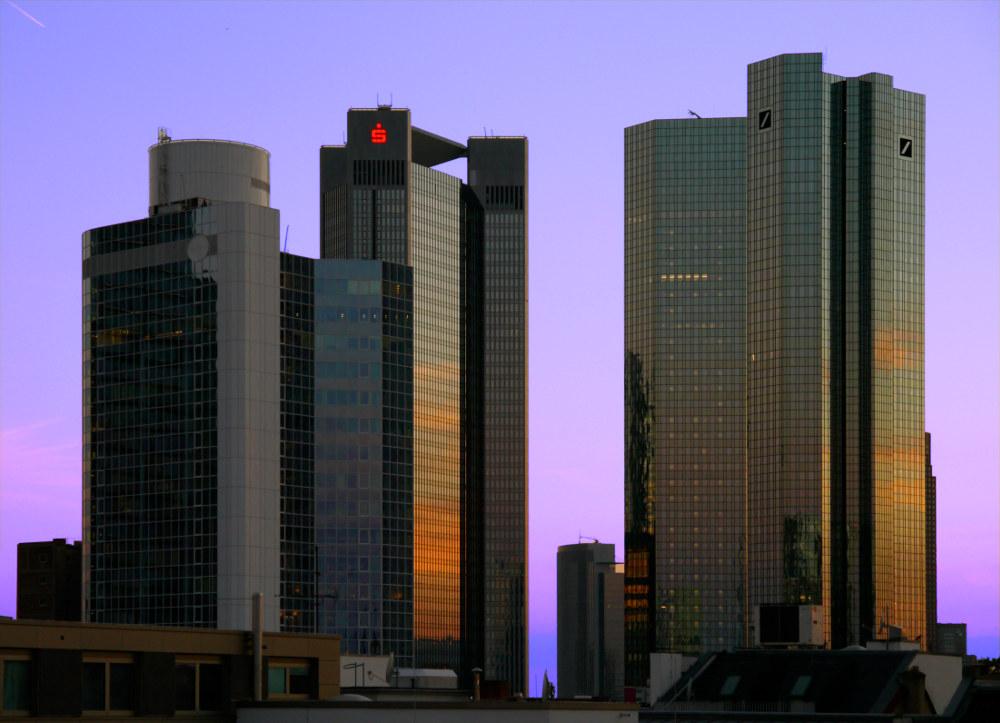 Skyline Banken Frankfurt