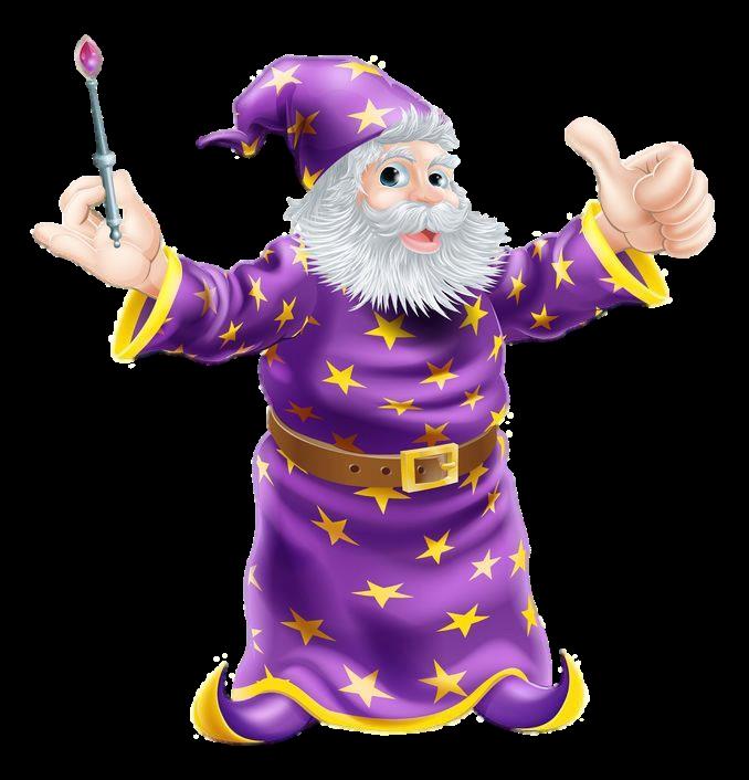Soul-Wizard - Zaubermantel mit Sternen