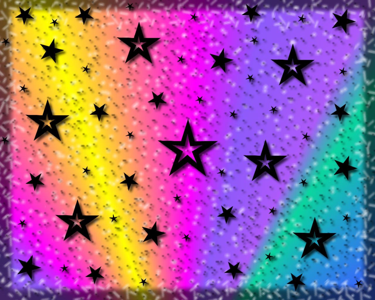 Sternen Schnee Multicolor
