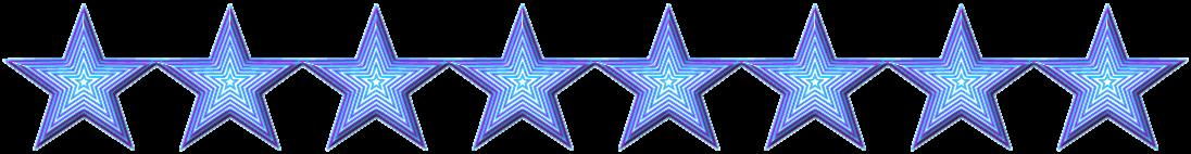 Trennlinie - Sterne/Muster - Dunkelblau
