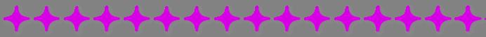 Trennlinie mit runden Rauten pink