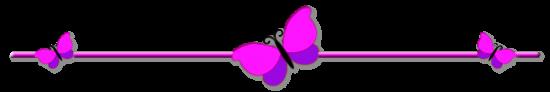 Trennlinie Schmetterlinge