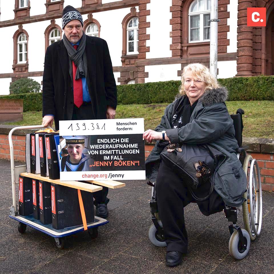 Vater und Mutter von Jenny Böken
