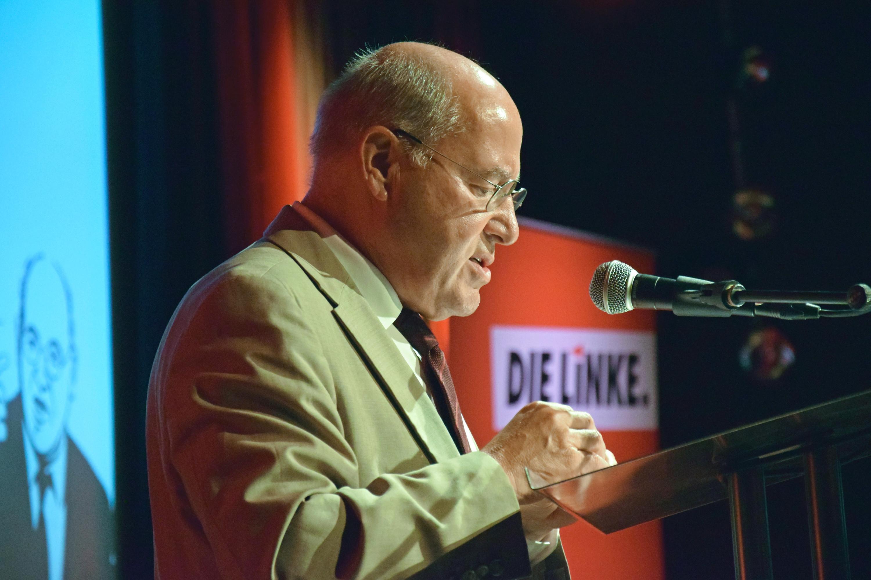 Vorsitzender der Linken - Gregor Gysi