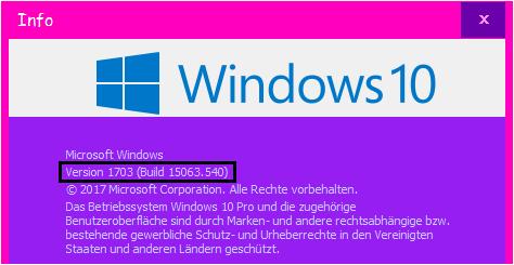 schutz windows 10