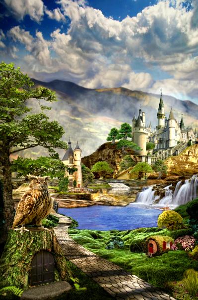 Zauberhaftes Maerchenschloss