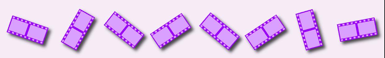 Zelluloid Filmstreifen
