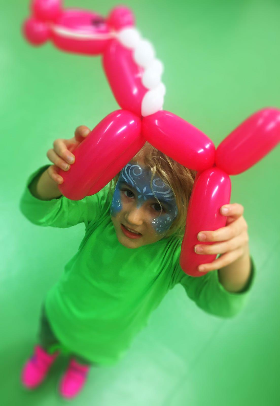 Luftballons Düsseldorf - Kindergeburtstag
