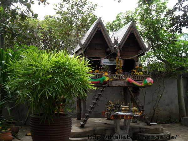Gebetshaus aus Holz
