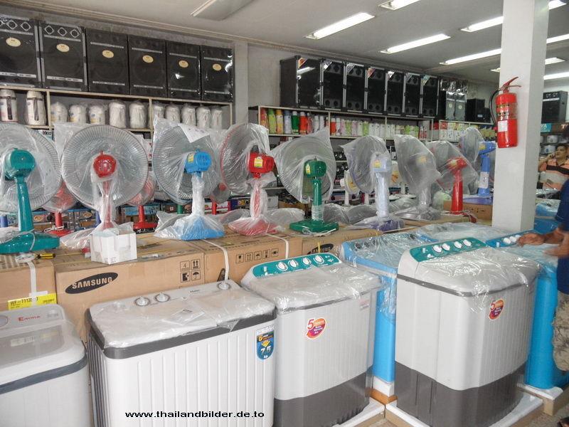 Ventilatoren und Waschmaschinen