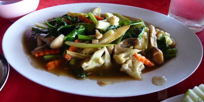lecker  gegartes Gemüse