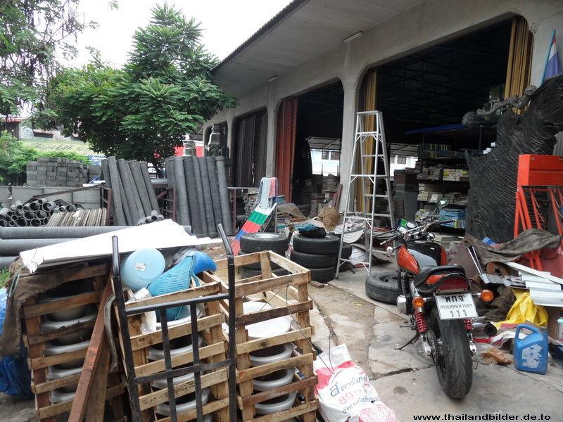 Baumaterialhändler noch mehr Chaos
