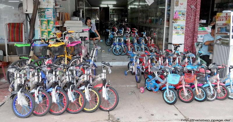Fahrräder für die kleinen