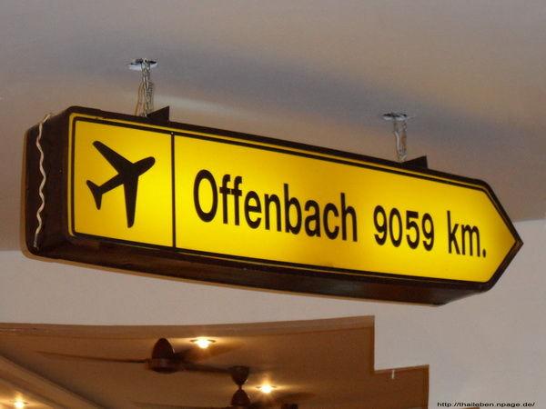 Wegweiser Offenbach