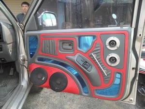 Lautsprecher in der Autotüre