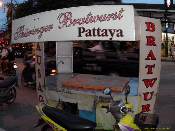 Thüringer Bratwurst Pattaya