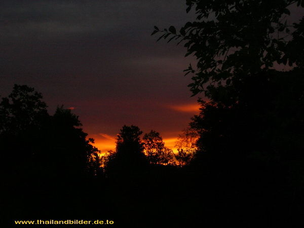 Sonnenuntergang Rot