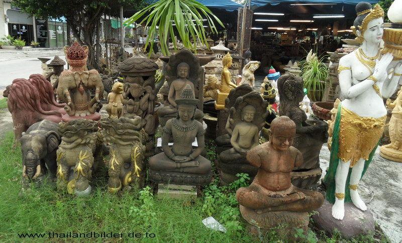 Steinfiguren ältere teile
