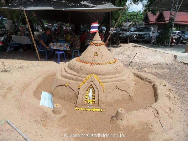 Sand Tempelnachbau