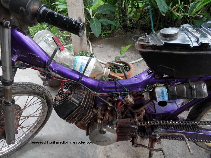 Bastel-Motorrad