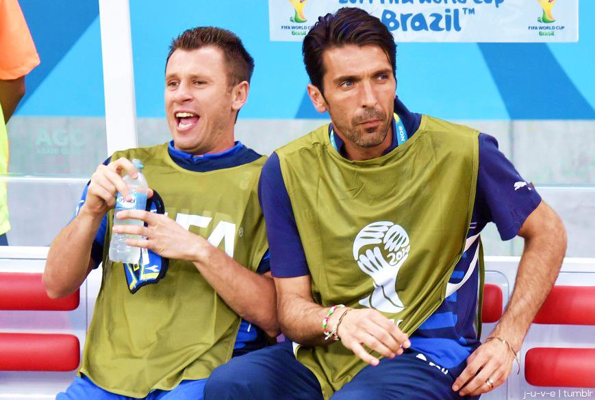 Cassano und Buffon