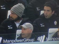 Andrea Pirlo und Gigi Buffon