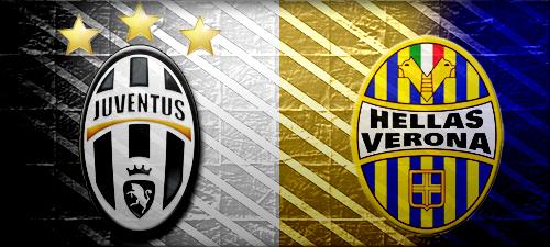 Juventus schlägt Hellas Verona