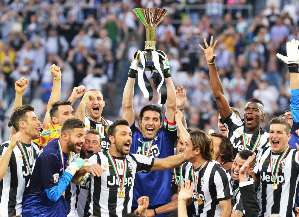 Juventus Turin, Meistertitel Serie A 2013