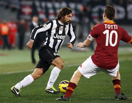 Andrea Pirlo & Francesco Totti