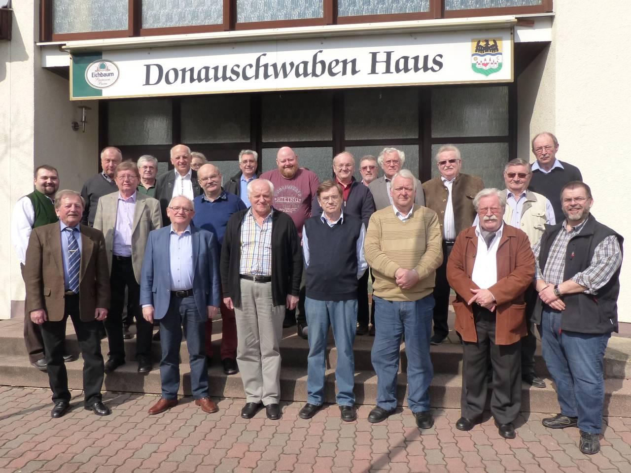 Teilnehmer an der Jahreshauptversammlung 2018