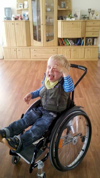 Der neue erste Rollstuhl