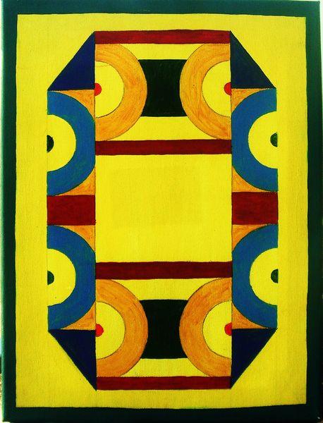 Acrylfarbe auf Leinwand, Maße 30x40 cm
