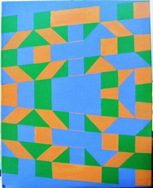 Acrylfarbe auf Leinwand, gem Dez. 2009 Jan. 2010