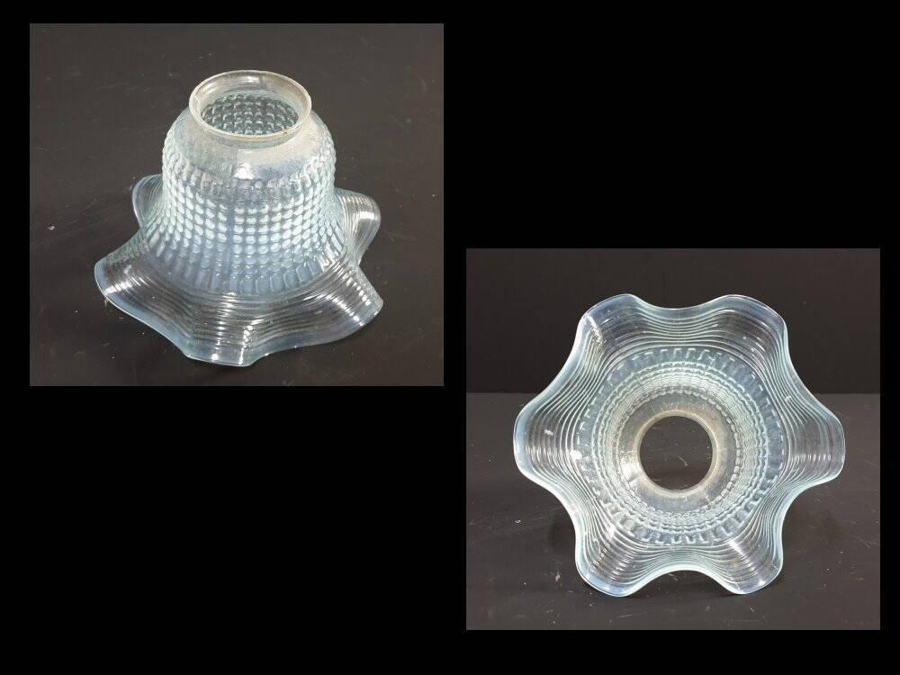 30 Jahre Glas Lampenschirm Klar