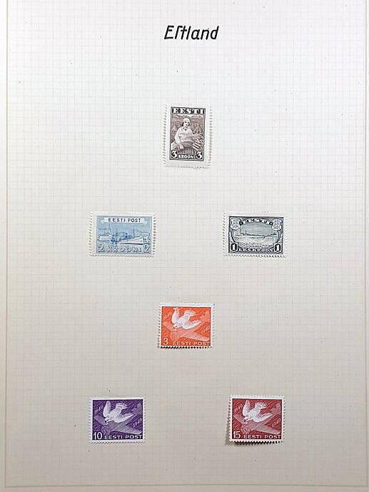 Briefmarken Deutsches Reich besetzte Ostgebiete Estland