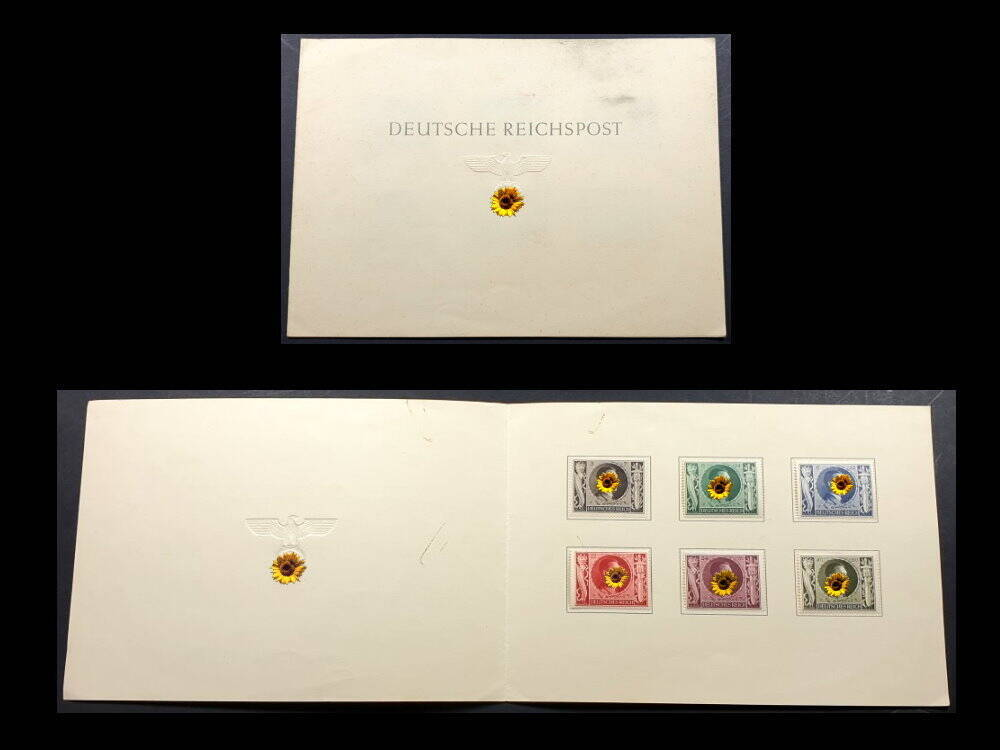 Briefmarken Deutsches Reich Sondermarken Hitler Musolini Pakt