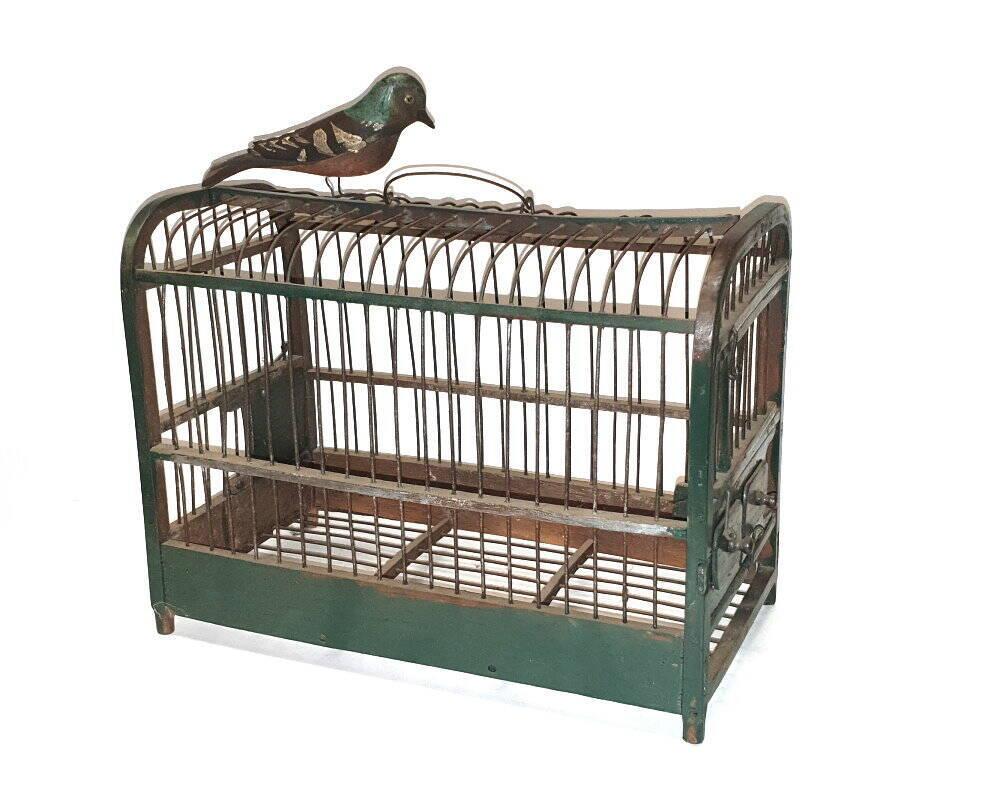 Holz Vogelkäfig Vichtauer Vogel