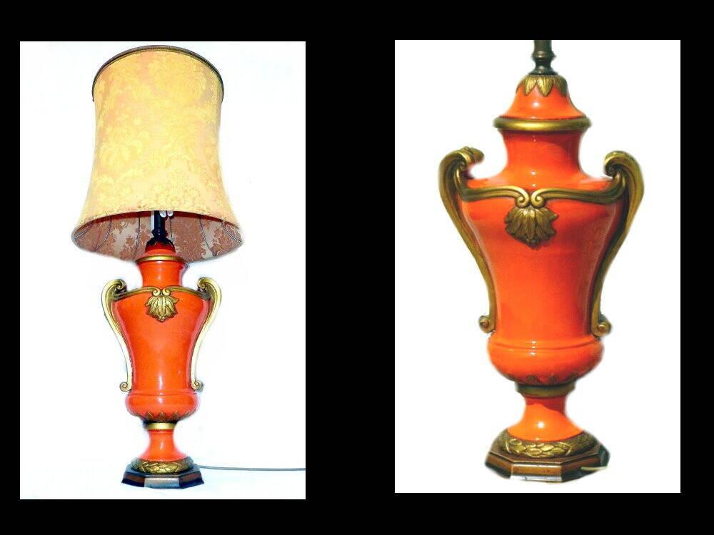 Ital. Lampe 50er Jahre