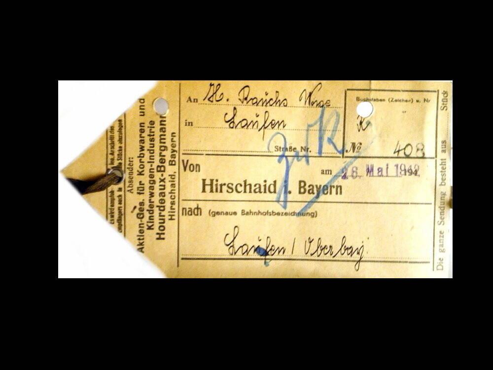 Kinderwagen - Puppenwagen 1942 Antiquitäten Salzburg Braunau