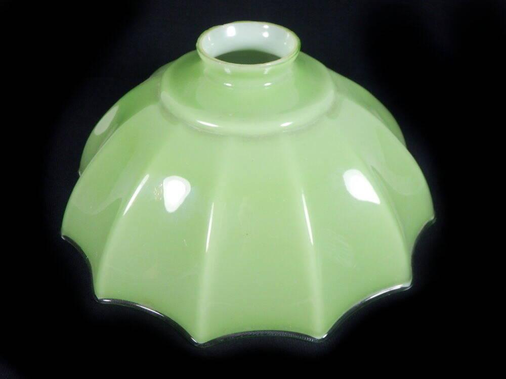 Lampenschirm Art Deko grün