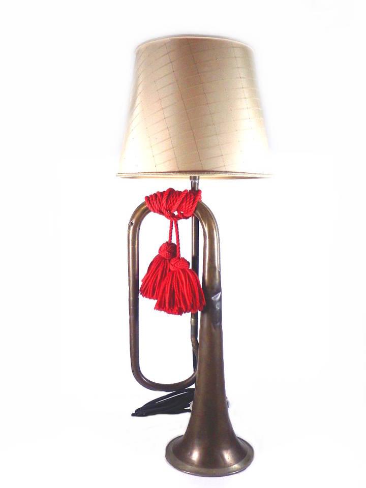 Trompete Lampe,