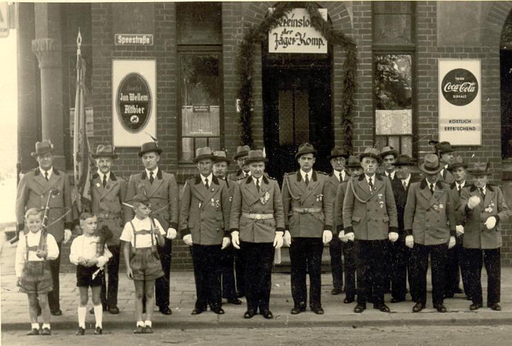Die Kompanie im Jahr 1954