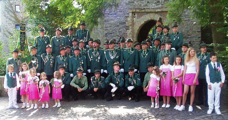 Gruppenfoto aus dem Jahre 2002